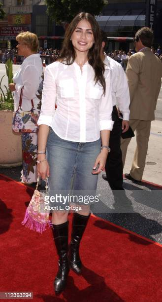 Rena Sofer during 'Spy Kids 2 The Island Of Lost Dreams' Premiere at Grauman's Chinese Theatre in Hollywood California United States