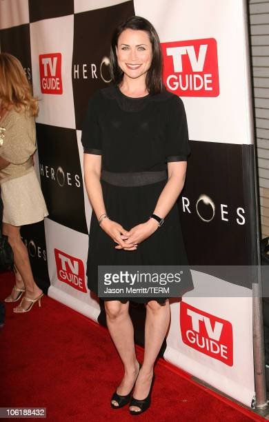 Rena Sofer during The Cast Of 'Heroes' Celebrate's Production Wrap Of Season One at The Cabana Club in Hollywood California United States