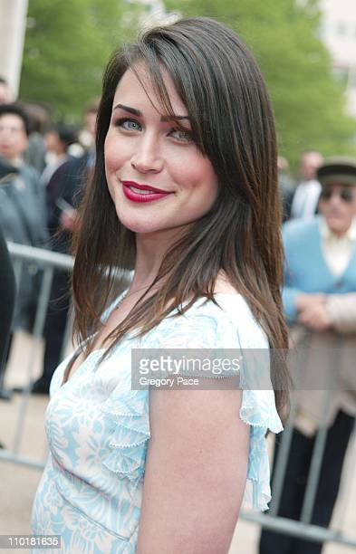 Rena Sofer on the new show'Coupling' during NBC 20032004 Upfront Arrivals at The Metropolitan Opera House in New York City New York United States