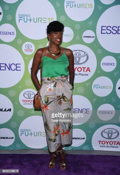Renae Bluitt attends the Essence Toyota Future 15 Event at Root NYC on June 22 2017 in New York City