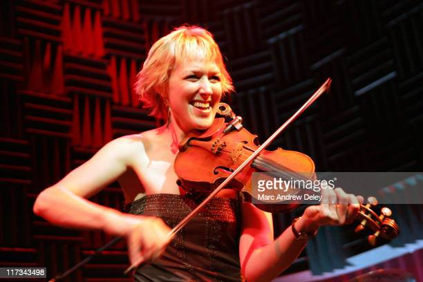 Renae Truex of Cowboy Crush during Country Takes New York City CMA Global Markets Symposium and Showcase at Joe's Pub in New York City New York...