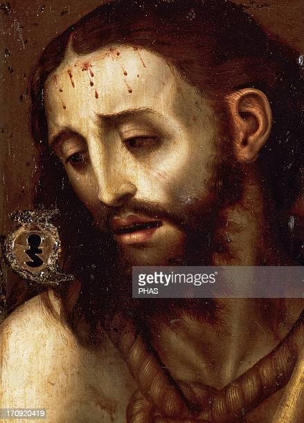 Renaissance Art Espan~a16th century Luis de Morales the Divine Spanish painter Ecce Homo Cathedral Museum Avila Castile and Leon