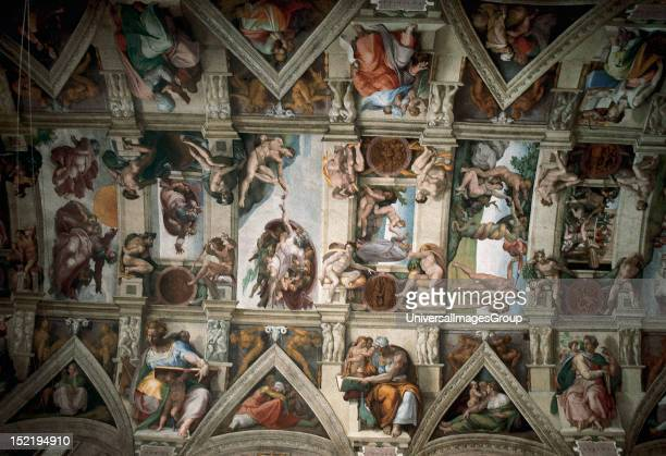 Renaissance Art Italy Michelangelo Painter poet Italian sculptor and architect Sistine Chapel Ceiling St Peter's Basilica Vatican City