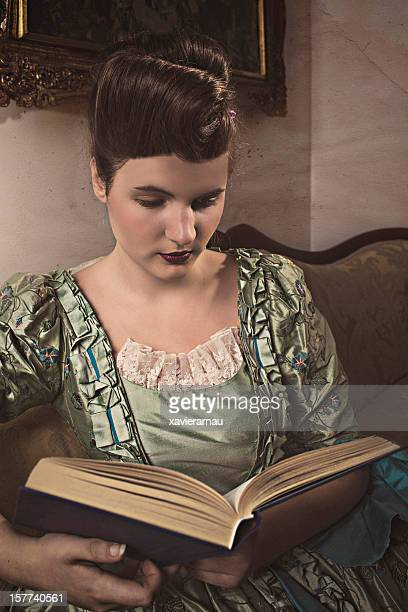 Renaissance book reading