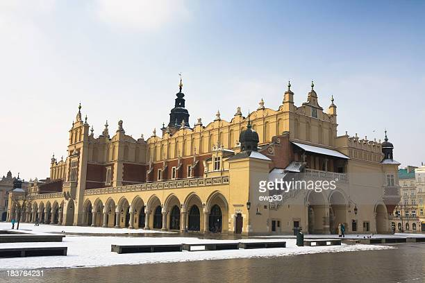 Renaissance lonja de los paños Sukiennice, Cracovia