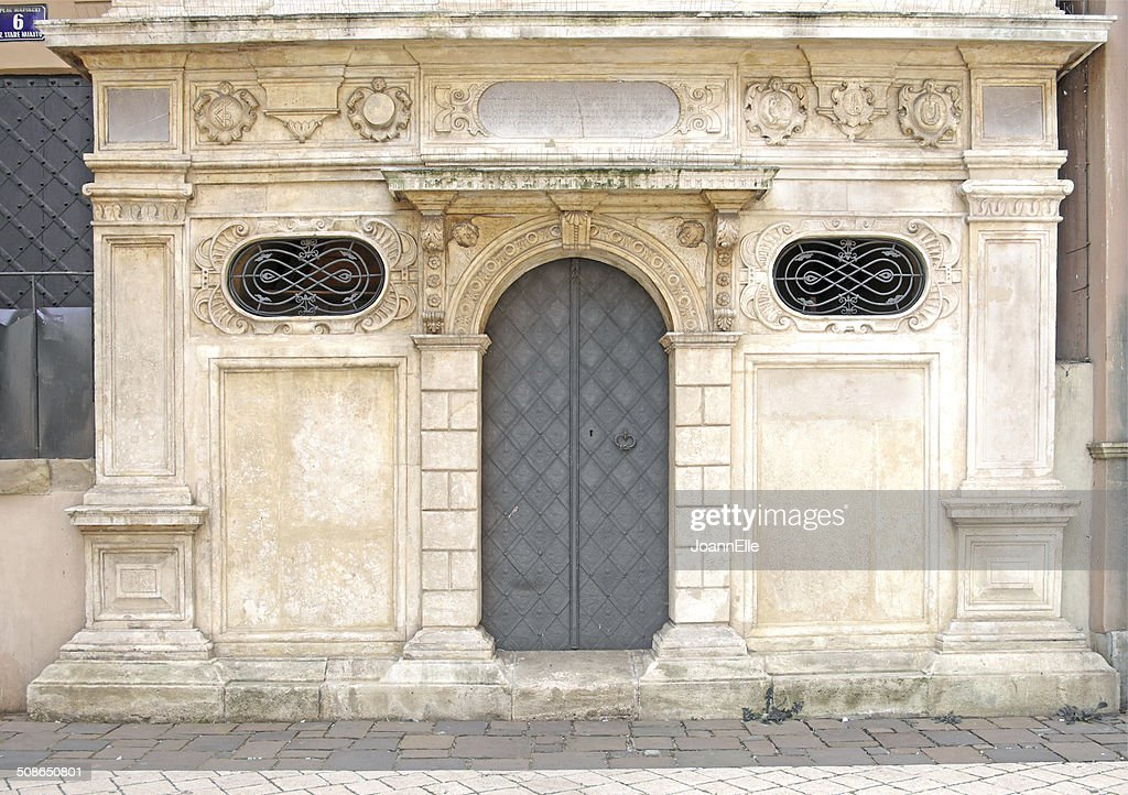 renaissance iron door : Stock Photo