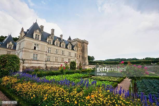 Renaissance Kitchen Garden Of Chateau De Villandry Villandry IndreEtLoire France