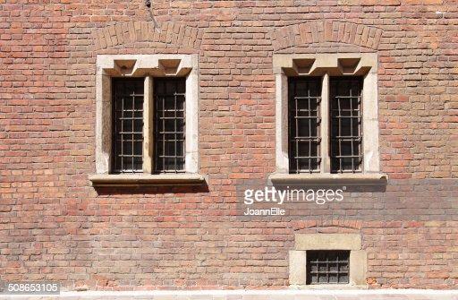 renaissance windows : Stock Photo