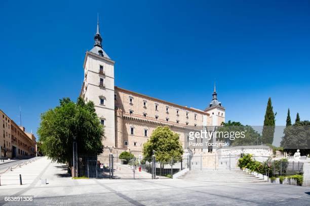 Renaissance-style Alcázar of Toledo, Spain