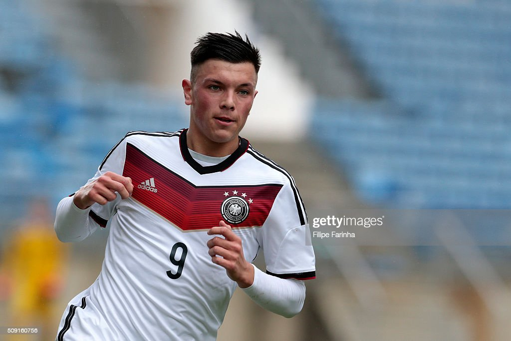 Renat Dadashov of Germany during the UEFA Under17 match between U17 Portugal v U17 Germany on February 9, 2016 in Estádio Algarve, Loule, Portugal.