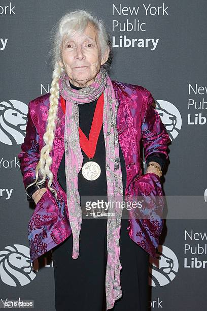 Renata Adler attends 2016 Library Lions Gala at New York Public Library Stephen A Schwartzman Building on November 7 2016 in New York City