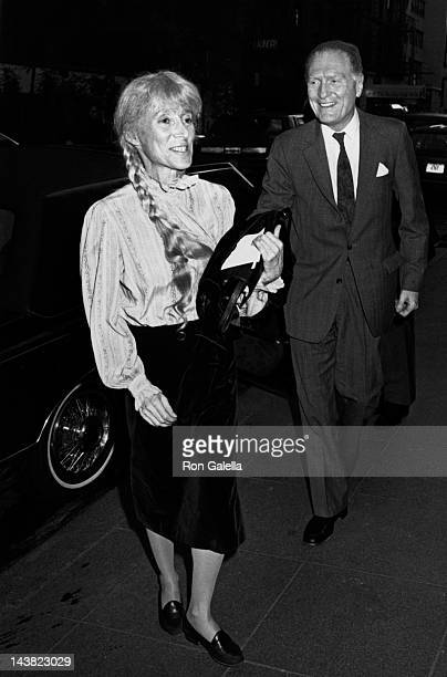Renata Adler attends Abe RosenthalShirley Lord Wedding Reception on June 10 1987 at John Kluge's home in New York City