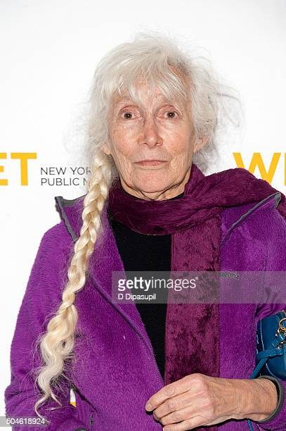 Renata Adler attends the 'Mike Nichols American Masters' world premiere at The Paley Center for Media on January 11 2016 in New York City