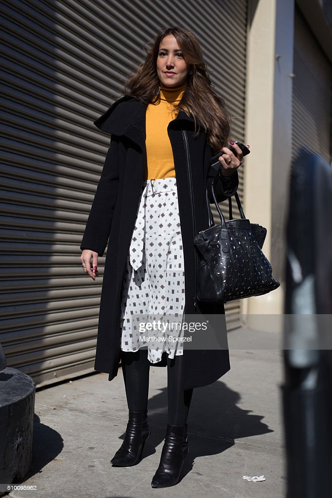 <a gi-track='captionPersonalityLinkClicked' href=/galleries/search?phrase=Renata+Ribeiro&family=editorial&specificpeople=2918962 ng-click='$event.stopPropagation()'>Renata Ribeiro</a> is seen at Rebecca Minkoff during New York Fashion Week: Women's Fall/Winter 2016 on February 13, 2016 in New York City.
