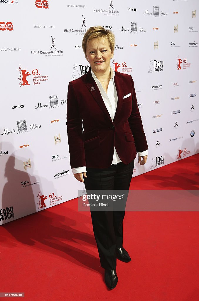 Renate Kuenast attends the Teddy Award during the 63rd Berlinale International Film Festival at Station Berlin on February 15, 2013 in Berlin, Germany.