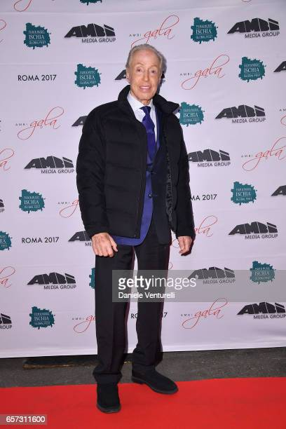 Renato Balestra attends AMBI GALA In Honour Of Andy Garcia And Bobby Moresco on March 23 2017 in Rome Italy