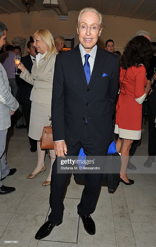 Renato Balestra attends the Venice Biennale 2013 Celebration with Baku Magazine, hosted by Leyla Aliyeva, Simon De Pury & Darius Sanai at The Westin Europa & Regina on May 29, 2013 in Venice, Italy.
