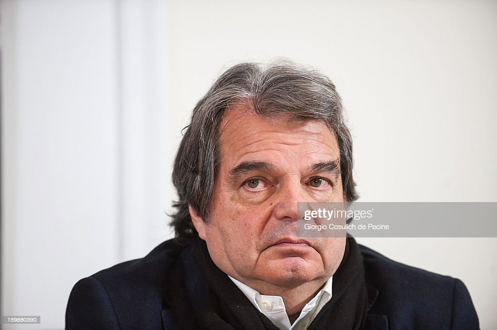<a gi-track='captionPersonalityLinkClicked' href=/galleries/search?phrase=Renato+Brunetta&family=editorial&specificpeople=4050845 ng-click='$event.stopPropagation()'>Renato Brunetta</a>, from PDL political party, attends the press conference for the presentation of Google Elections 2013 on January 22, 2013 in Rome, Italy. The Google platform elections, organized in collaboration with the newspaper La Stampa and the TV channel La7, brings for the first time in Italy a new model of citizen participation on the web, which has already been successfully tested by Google in elections in the U.S., in France, Germany and other countries of the world.