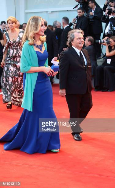 Renato Brunetta walks the red carpet ahead of the 'Downsizing' screening and Opening Ceremony during the 74th Venice Film Festival at Sala Grande on...