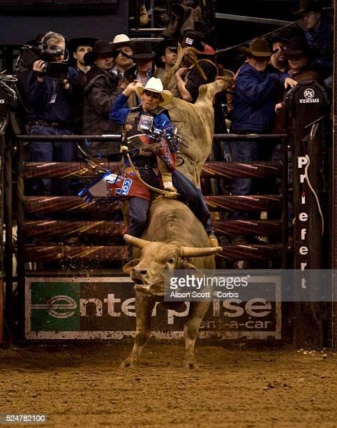 Renato Nunes in the Short Go on his bull Big Tex Nunes was bucked off in 67 seconds