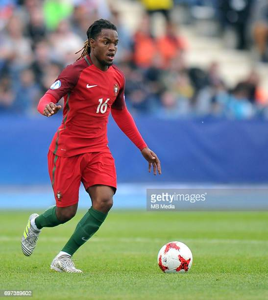 Renato Sanches during the UEFA European Under21 match between Portugal and Serbia at Arena Bydgoszcz on June 17 2017 in Bydgoszcz Poland