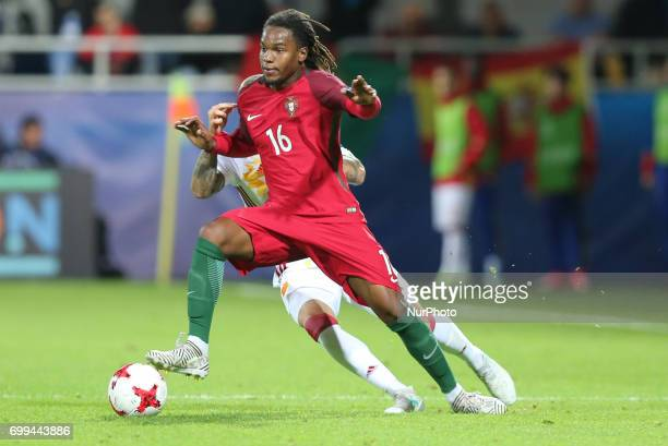 Renato Sanches during their UEFA European Under21 Championship match against Portugal on June 20 2017 in Gdynia Poland