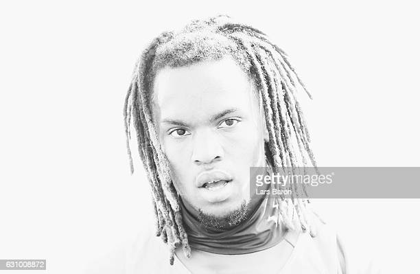 Renato Sanches looks on during a training session at day 3 of the Bayern Muenchen training camp at Aspire Academy on January 5 2017 in Doha Qatar