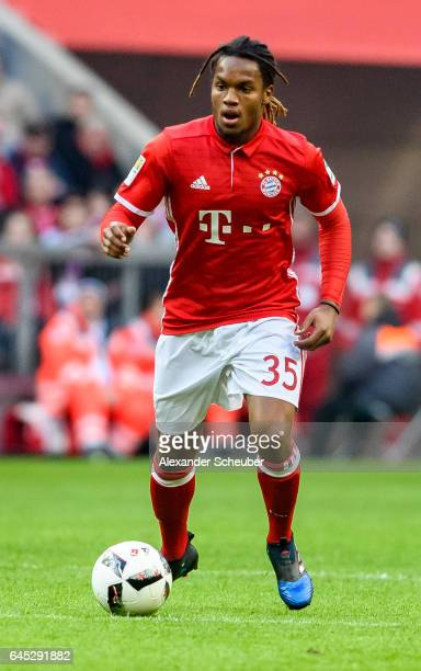 Renato Sanches of Bayern Muenchen in action during the Bundesliga match between Bayern Muenchen and Hamburger SV at Allianz Arena on February 25 2017...