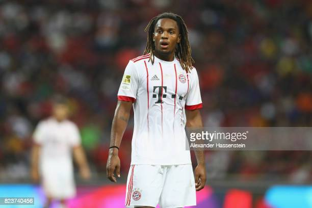 Renato Sanches of Bayern Muenchen looks on during the International Champions Cup 2017 match between Bayern Muenchen and Inter Milan at National...