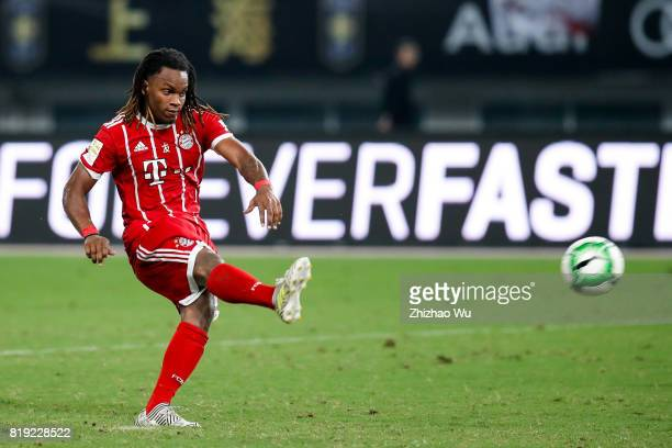 Renato Sanches of FC Bayern during the 2017 International Champions Cup China match between FC Bayern and Arsenal FC at Shanghai Stadium on July 19...