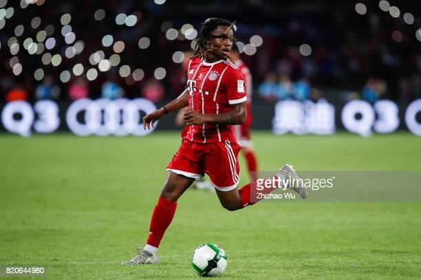 Renato Sanches of FC Bayern during the 2017 International Champions Cup China match between FC Bayern and AC Milan at Universiade Sports Centre...