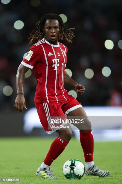 Renato Sanches of Muenchen runs with the ball during the 2017 International Champions Cup China match between FC Bayern and AC Milan at Universiade...