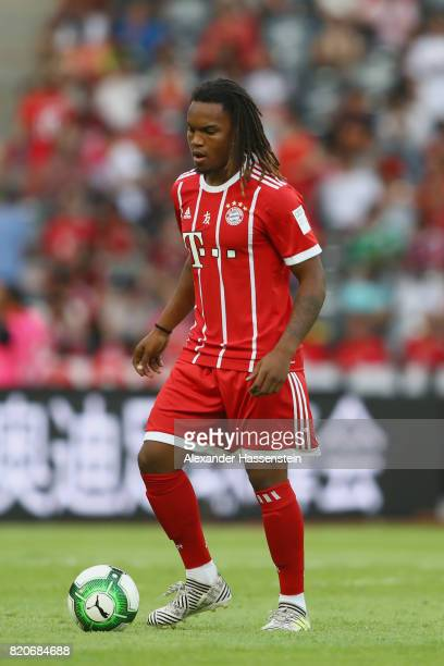 Renato Sanches of Muenchen runs with the ball during the International Champions Cup Shenzen 2017 match between Bayern Muenchen and AC Milan at on...
