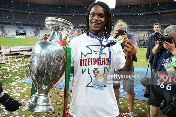 Renato Sanches of Portugal during the UEFA EURO 2016 final match between Portugal and France on July 10 2016 at the Stade de France in Paris France