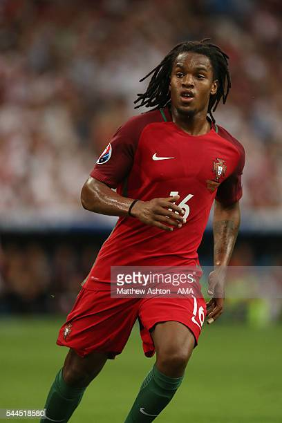 Renato Sanches of Portugal during the UEFA Euro 2016 quarter final match between Poland and Portugal at Stade Velodrome on June 30 2016 in Marseille...
