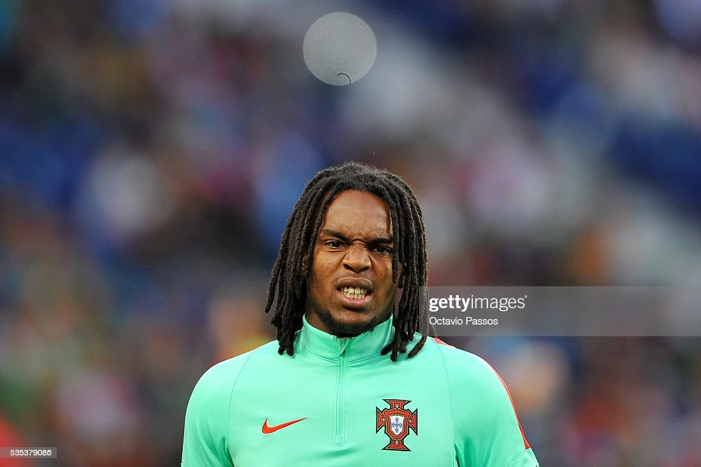 Renato Sanches of Portugal prior to the the International Friendly match between Portugal and Norway at Dragao Stadium on May 29, 2016 in Porto, Portugal.