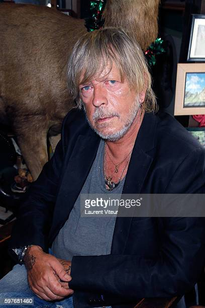 Renaud attends 21th 'La Foret des Livres' at ChanceauxPres Loches on August 28 2016 in Loches France