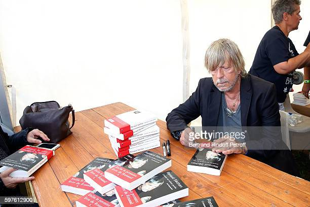 Renaud attends 21th 'la Foret des Livres' Book Fair at ChanceauxpresLoches on August 28 2016 in Loches France