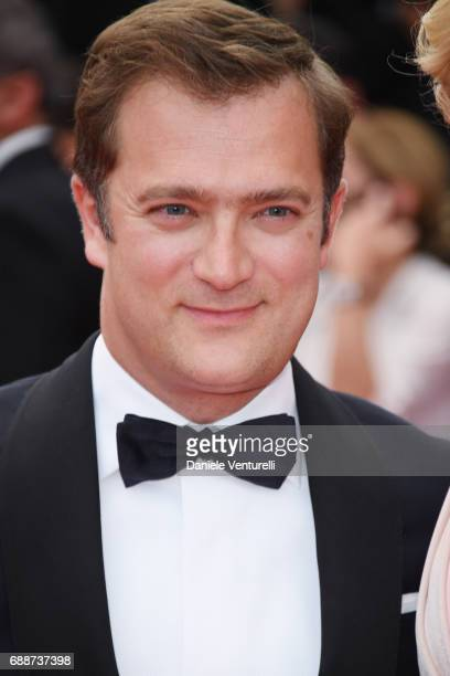 Renaud Capucon attends 'Amant Double ' Red Carpet Arrivals during the 70th annual Cannes Film Festival at Palais des Festivals on May 26 2017 in...