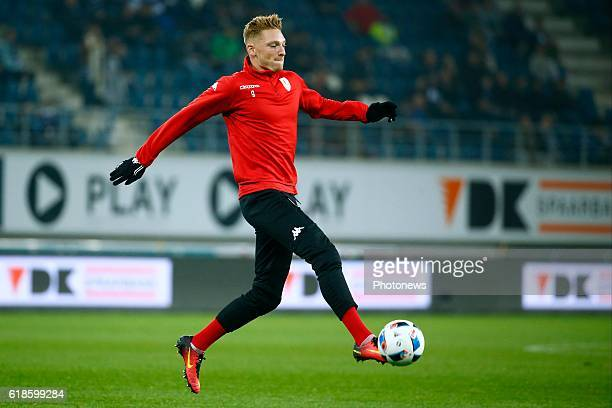 Renaud Emond forward of Standard Liege before the Jupiler Pro League match between KAA Gent and Standard de Liege in the Ghelamco Arena stadium on...