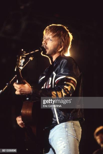 Renaud en concert au Paleo Festival à Nyon en juillet 1996 Suisse