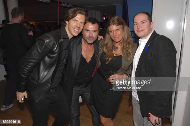 Renaud FranÁois FrÈdÈric Blanc Candice Rosaye and Pascal Martinez attend LE BON MARCHE RIVE GAUCHE Unveils The Film Excerpts of GUY BOURDIN at Le Bon...