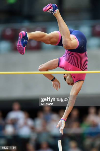 Renaud Lavillenie during 5th Kamila Skolimowska Memorial on August 15 2017 in Warsaw Poland