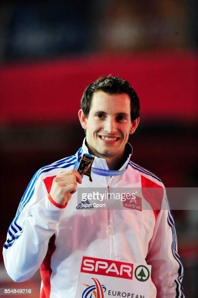 Renaud LAVILLENIE Medaille OR Saut a la perche Championnats d'Europe en salle BercyParis