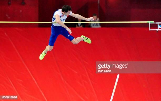Renaud LAVILLENIE Perche Championnats d'Europe en salle BercyParis