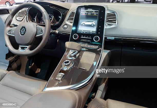 Renault Espace MPV car interior