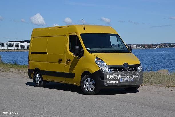 Renault Master on the parking