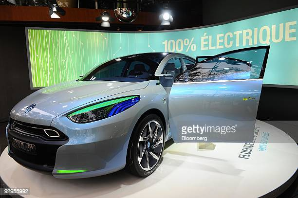 Renault Fluence Ze Concept Stock Photos And Pictures Getty Images