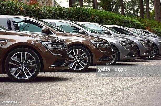 Renault Talisman cars on the parking