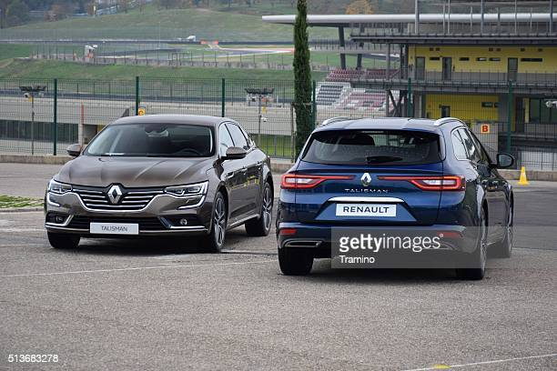 Renault Talisman - front and rear